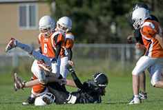 American football action Royalty Free Stock Photo