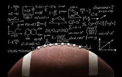American football ball on chalkboard background. American football american sport sports ball football ball college football college footbal game royalty free stock photo