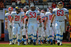 American Football B-European Championship 2009 Royalty Free Stock Photography