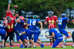 American Football B-European Championship 2009 Royalty Free Stock Image