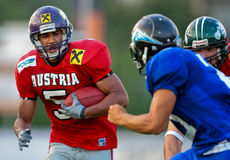 American Football B-European Championship 2009 Royalty Free Stock Photography