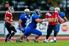 American Football B-European Championship 2009 Stock Photography