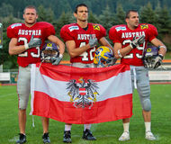American Football B-European Championship 2009 Stock Image