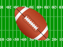 American football background 2 Stock Photos