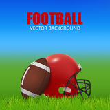 American football Royalty Free Stock Image