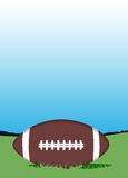 American football background Stock Photo