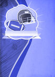 American football background. American football sport poster or flyer background with space royalty free stock image