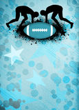American football background. American football sport poster or flyer background with space stock images