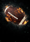 American football background. American football sport poster or flyer background with space stock image