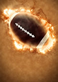 American football background. American football sport poster or flyer background with space royalty free stock photography