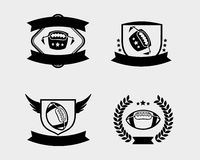 American football badge Royalty Free Stock Photos
