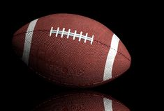 American football ball 2 Royalty Free Stock Images