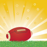 American football ball Royalty Free Stock Photos