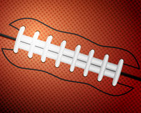 American football ball background Royalty Free Stock Photos