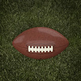 American football ball. 3d background Stock Image