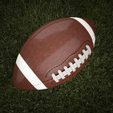 American football ball. 3d background Stock Photos