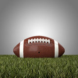 American football ball. 3d background Stock Images