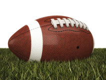 American football ball. 3d background Royalty Free Stock Image