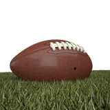American football ball. 3d background Royalty Free Stock Images