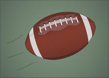 American football ball stock image