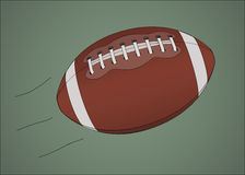 American football ball royalty free illustration