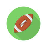 American football ball icon. Stock Photography