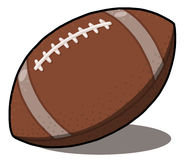 American Football ball illustration Royalty Free Stock Images