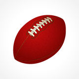American football ball illustration Royalty Free Stock Photography