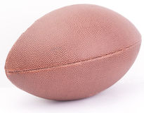 An american football ball. Isolated on white background Stock Photos