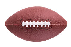 American football ball. Isolated on white background Stock Images