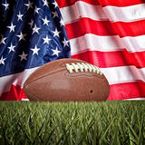 American football ball Royalty Free Stock Image