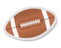 American football - ball Royalty Free Stock Photos