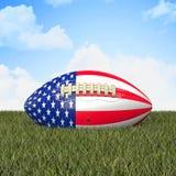 American football ball Royalty Free Stock Photography