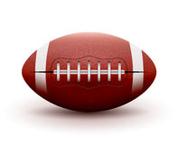 American Football ball  on white background. Vector illustration rugby sport game. Competition team Stock Photos