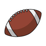 American football balloon icon Stock Photography