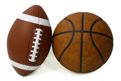 American Football and Basketball