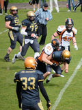 American Football Bergamo Lions vs Milano Rhinos Royalty Free Stock Images