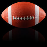 American football black Royalty Free Stock Photography