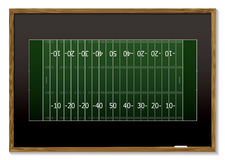 American football blackboard Stock Images