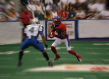 American football blur stock images