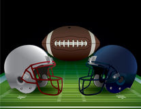 American Football Bowl Game Illustration Royalty Free Stock Images