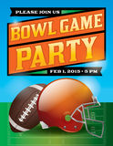 American Football Bowl Game Party Illustration Royalty Free Stock Photo