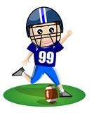 American Football Boy stock images