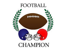 American Football Champion 2 Royalty Free Stock Image