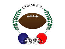 American Football Champion Stock Photography