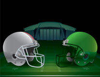 American Football Championship Illustration Royalty Free Stock Images