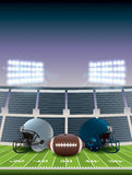American Football Championship. An illustration for an American football championship game. Vector EPS 10 available. EPS file contains transparencies and Royalty Free Stock Image