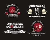 American football championship, team training camp Stock Photography