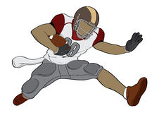 American football-Character Stock Images