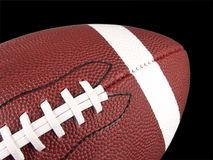 American Football Close Up Royalty Free Stock Images